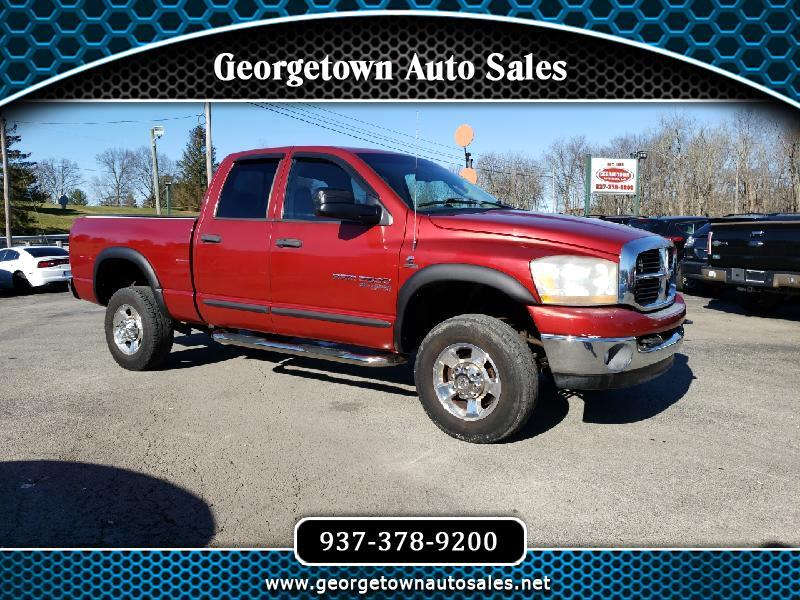Dodge Ram 2500 Laramie Quad Cab Short Bed 4WD 2006