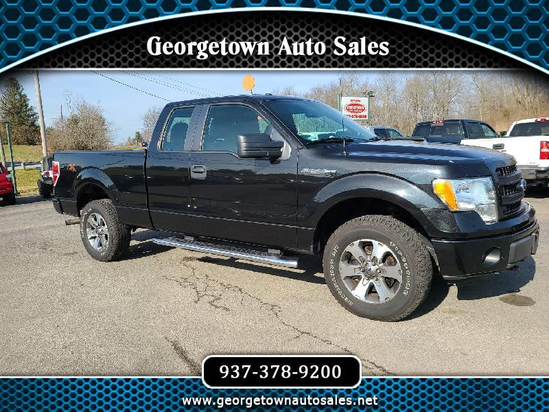 "Ford F-150 4WD SuperCab 133"" STX 2013"