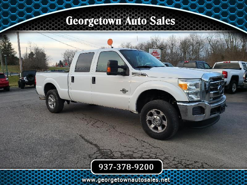 Ford F-250 SD XLT Crew Cab Short Bed 4WD 2014