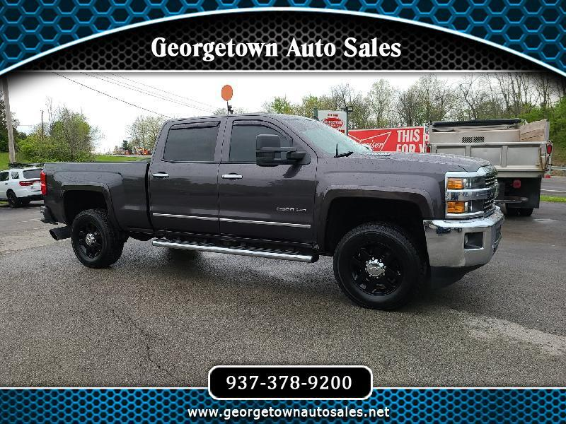 Chevrolet Silverado 2500HD LTZ Crew Cab Short Box 4WD 2015