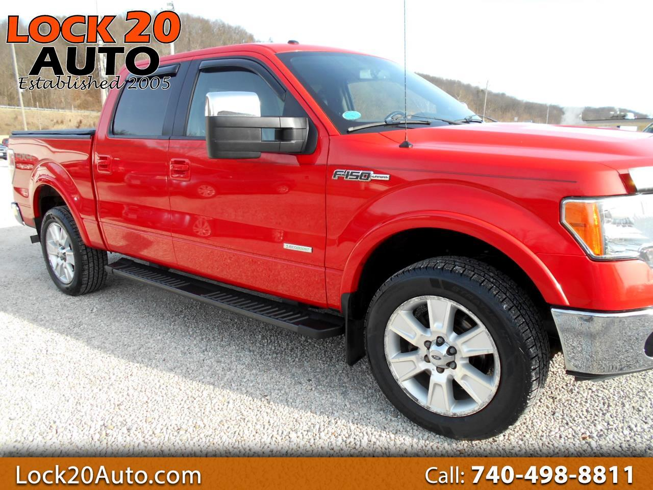"Ford F-150 SuperCrew 139"" Lariat 4WD 2012"