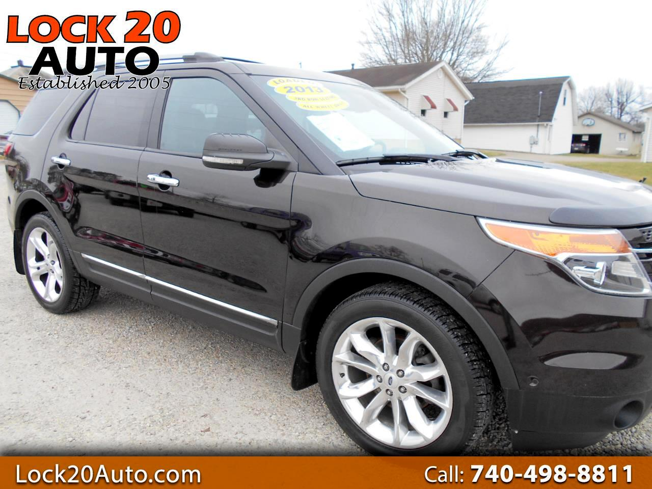 Ford Explorer 4WD 4dr V6 Limited 2013