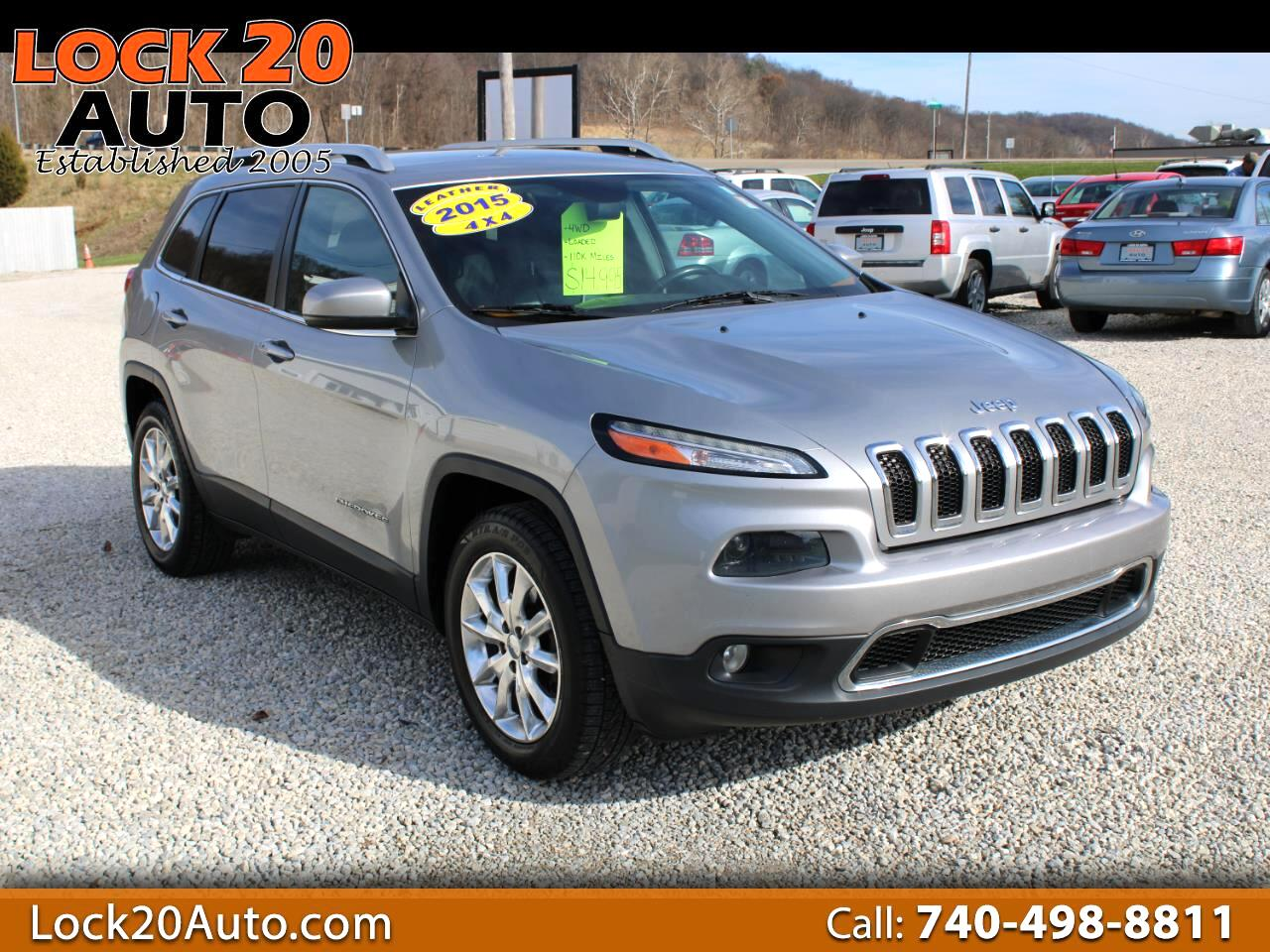 Jeep Cherokee 4dr Limited 4WD 2015