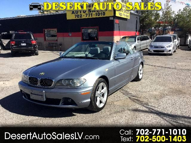 BMW Series Ci Convertible RWD For Sale CarGurus - 2006 bmw 325ci convertible