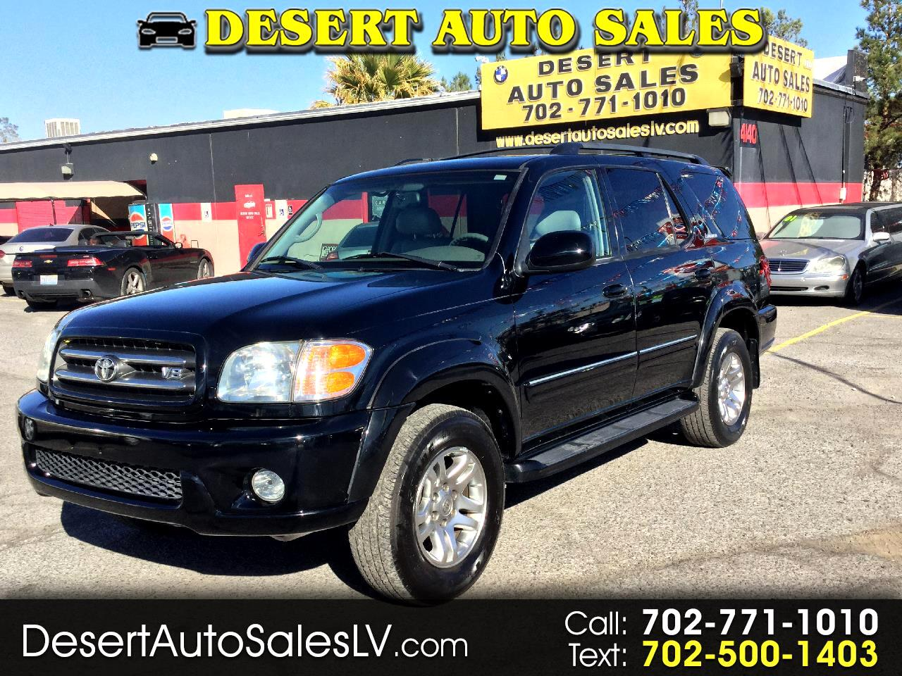 2004 Toyota Sequoia 4dr Limited (Natl)