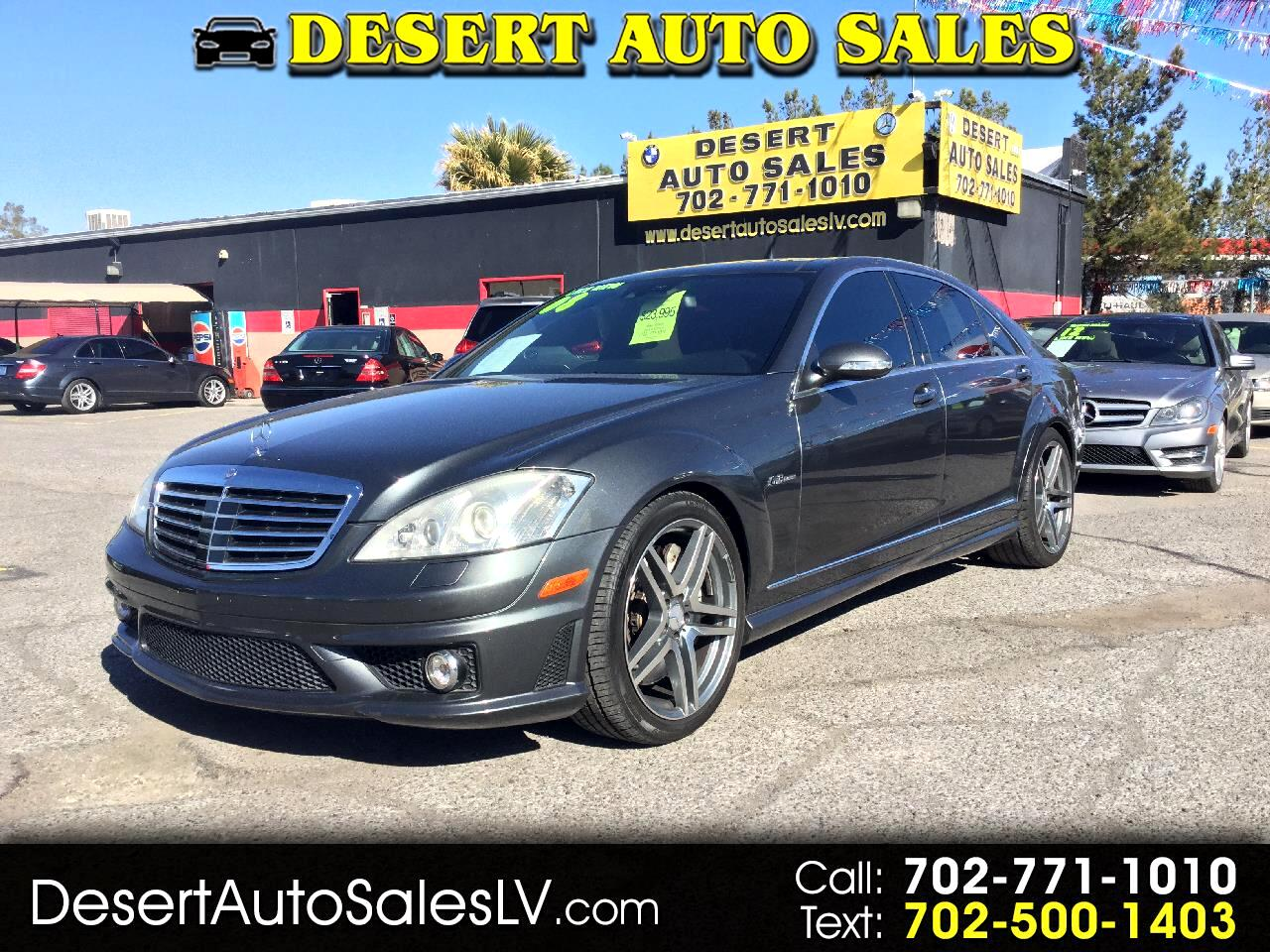 2008 Mercedes-Benz S-Class 4dr Sdn S 63 AMG RWD
