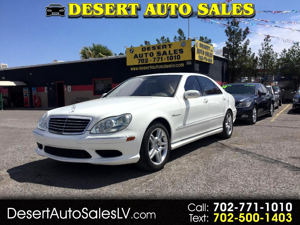 2005 Mercedes-Benz S-Class 4dr Sdn AMG