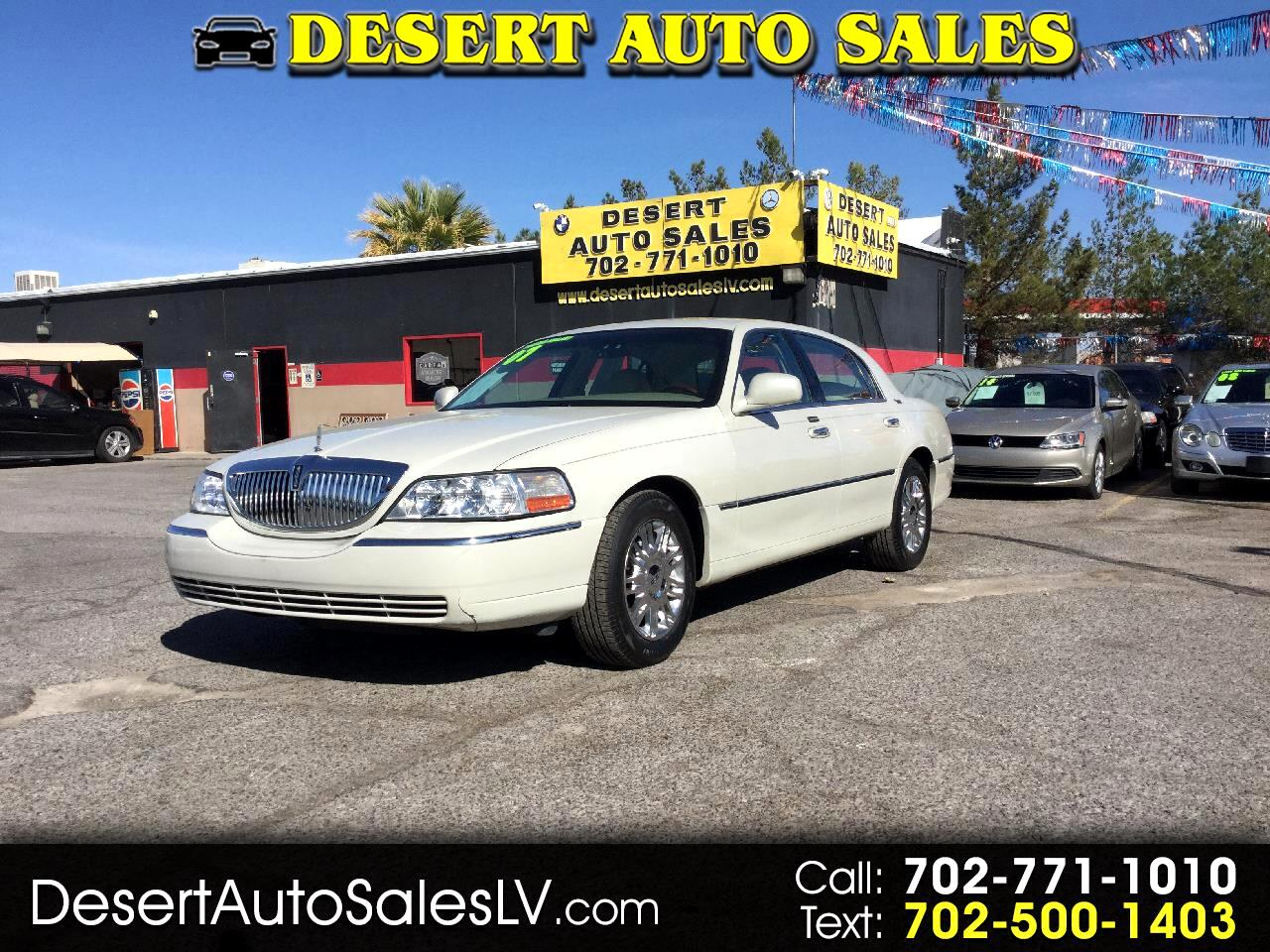 Lincoln Town Car 4dr Sdn Signature Limited 2007