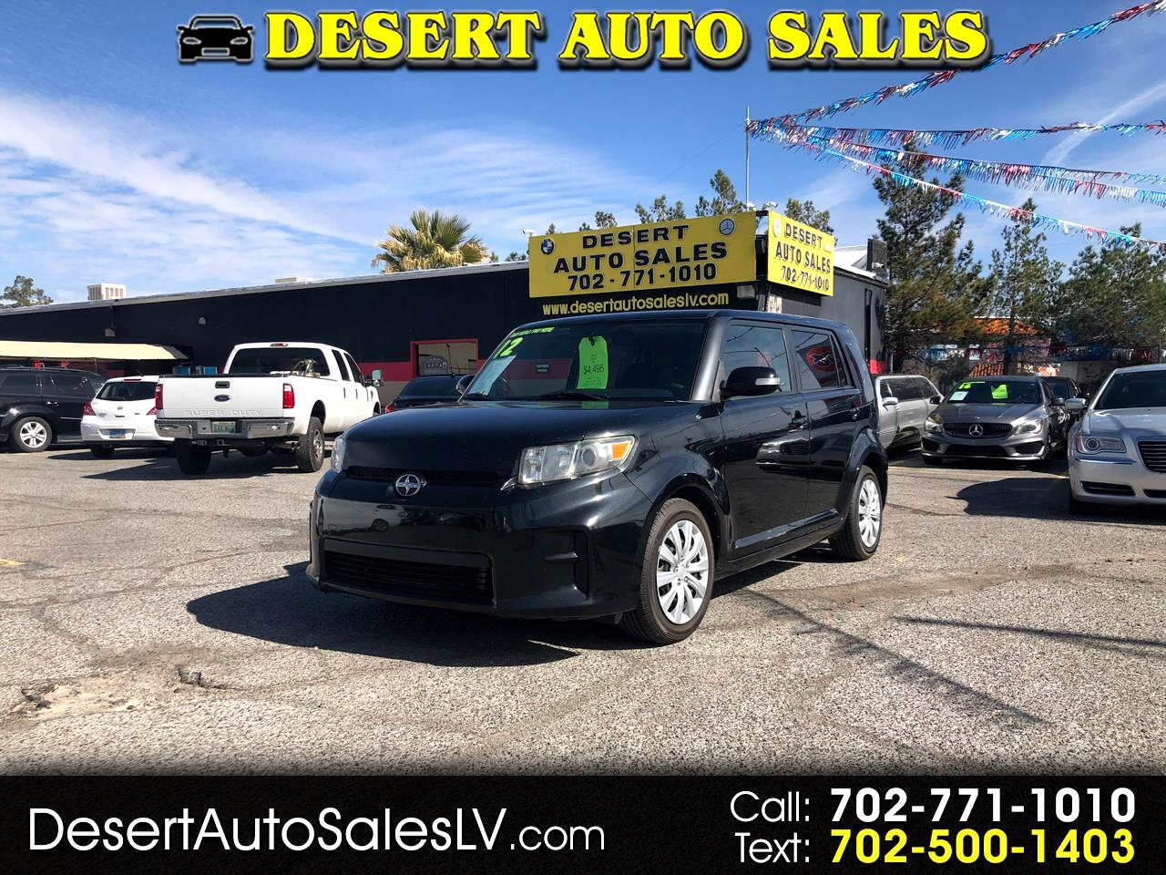 Scion xB 5dr Wgn Man (Natl) 2012
