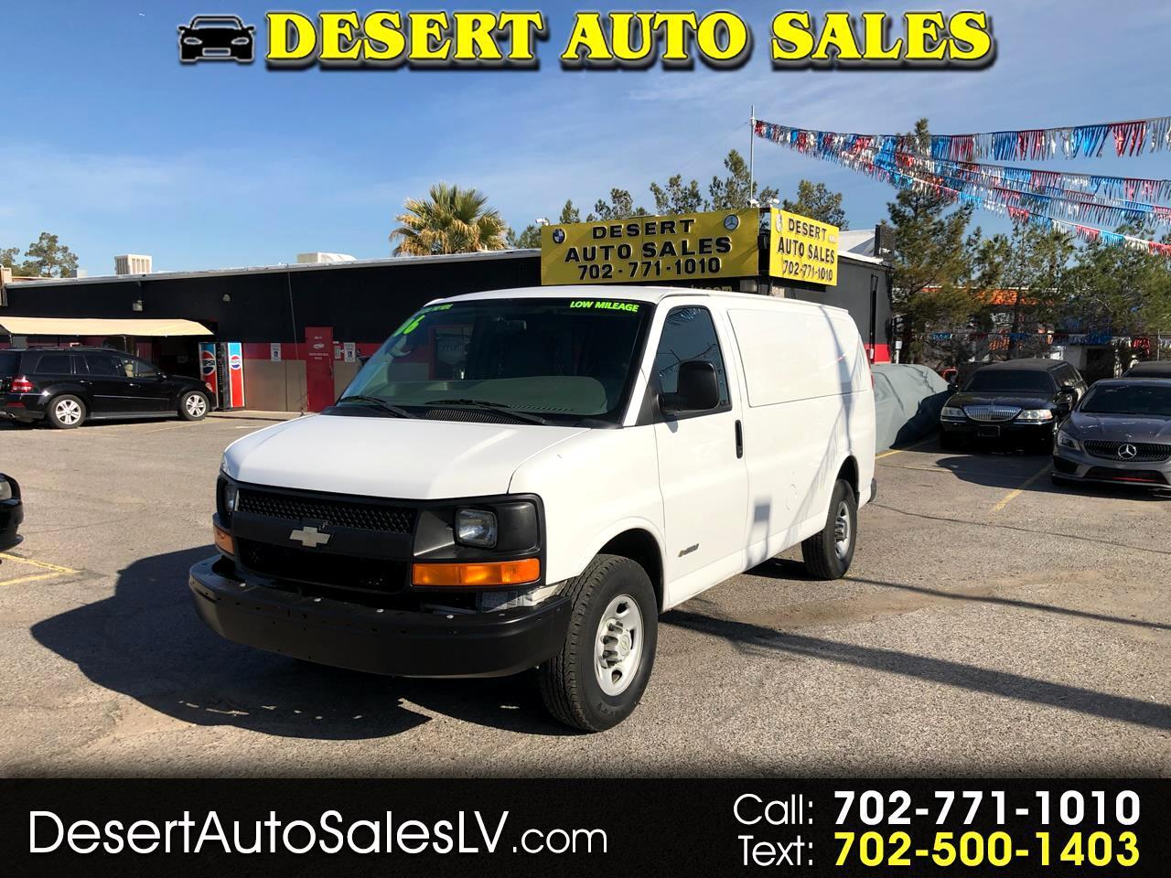 "Chevrolet Express Cargo Van 2500 135"" WB RWD 2006"