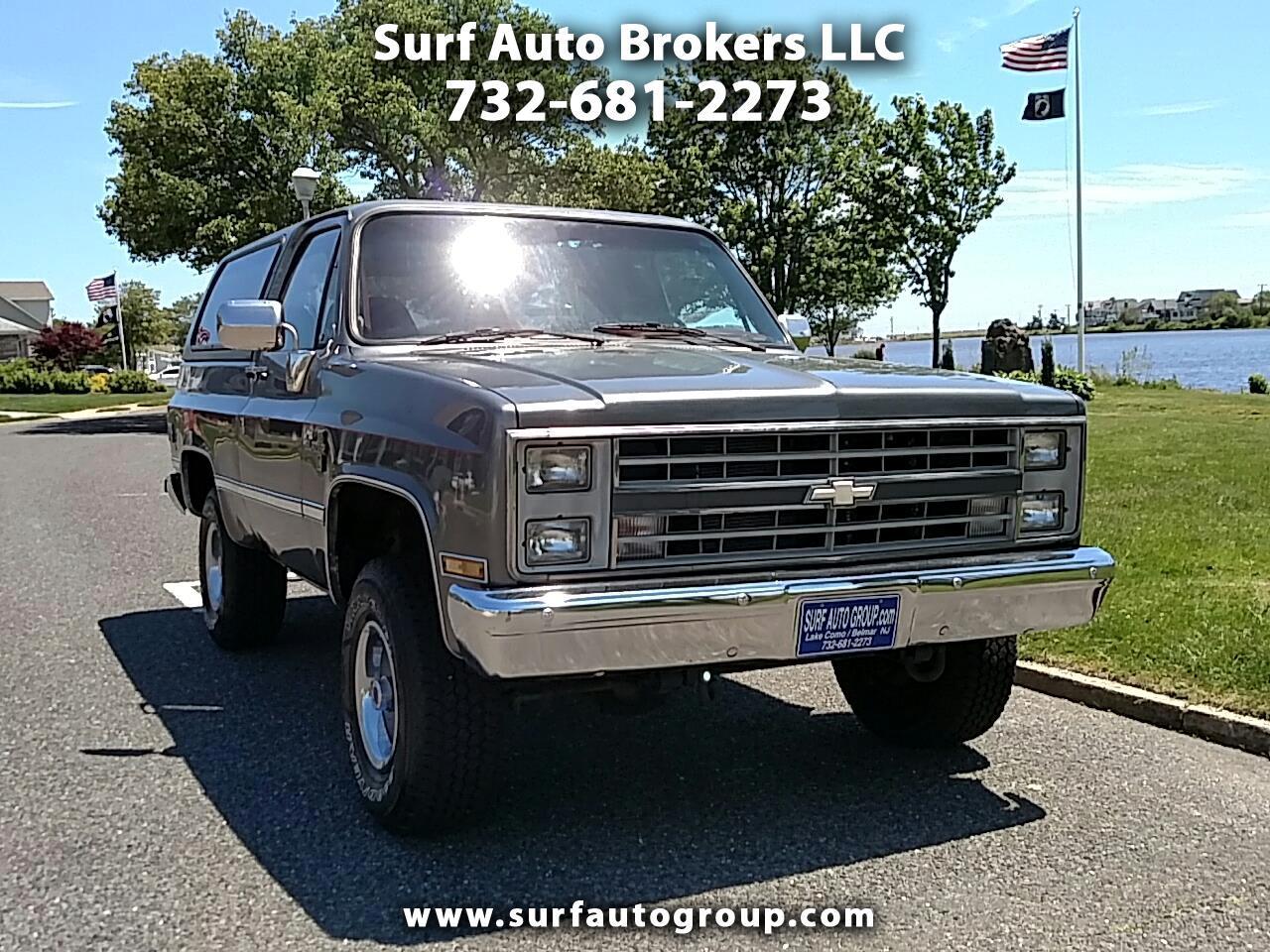 1988 Chevrolet K Blazer K5