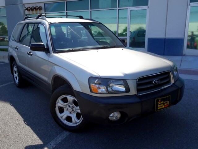 2005 Subaru Forester 2.5 X