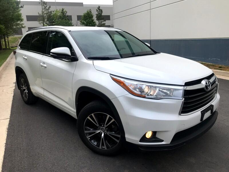 2016 Toyota Highlander XLE AWD V6 NAVIGATION REAR CAMERA 3RD ROW SEAT