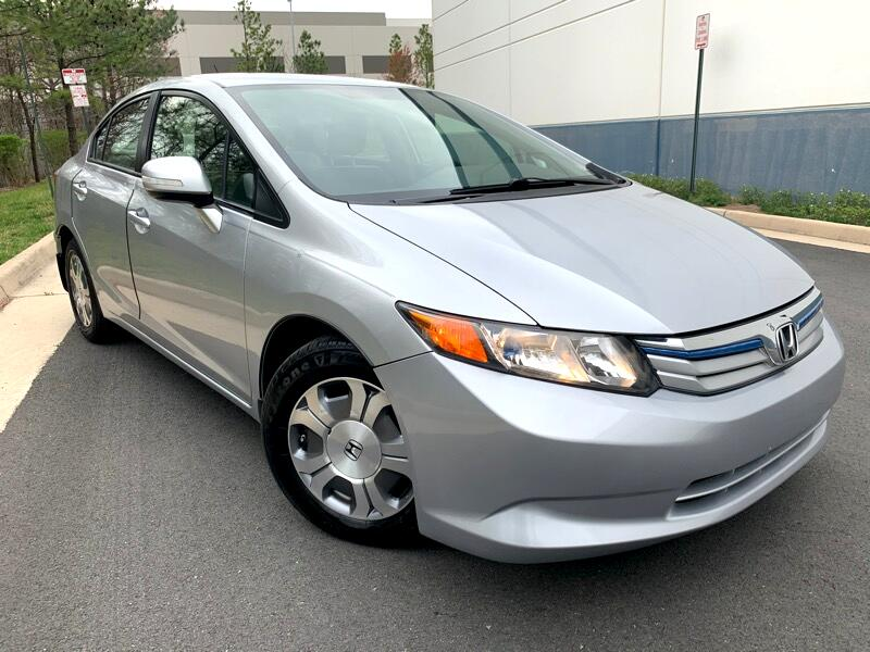 Honda Civic Hybrid CVT AT-PZEV with Leather 2012