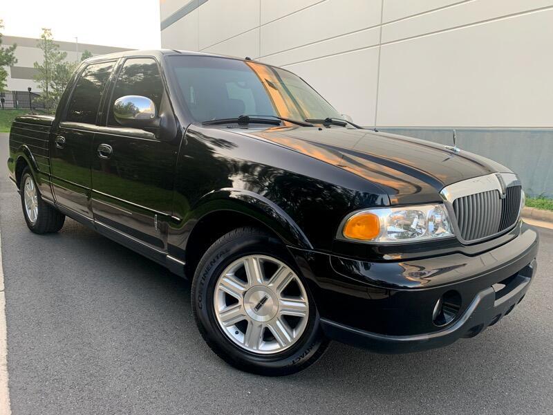 Lincoln Blackwood Luxury Utility Vehicle 2002