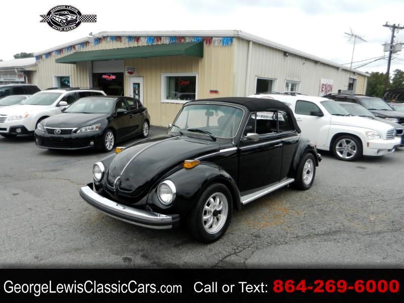 Volkswagen Beetle Convertible  1979