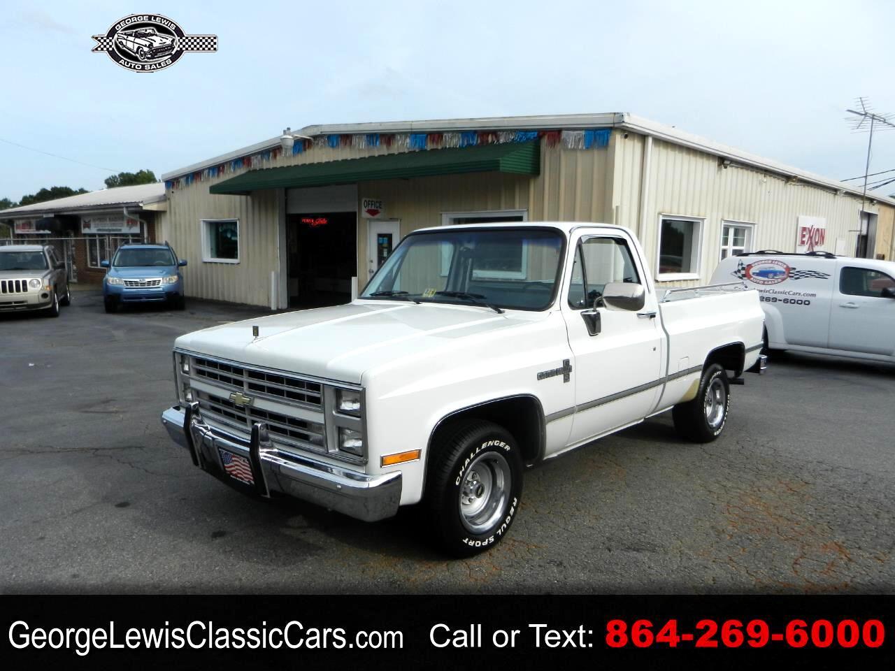 Chevrolet Trucks C10  1986