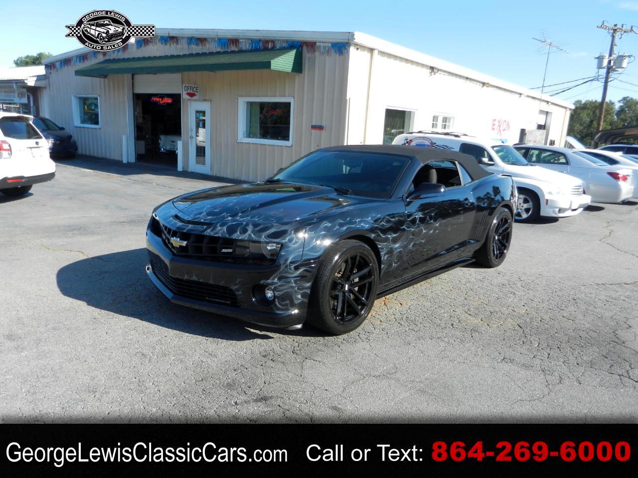 Chevrolet Camaro Convertible 1SS 2012