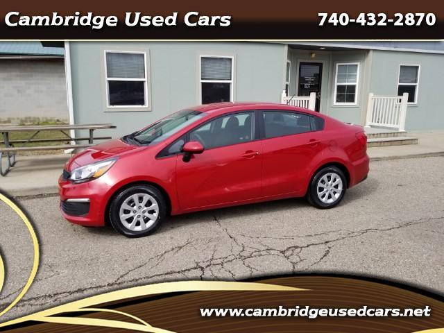 Used 2017 Kia Rio Lx 6a For Sale In Cambridge Oh 43725