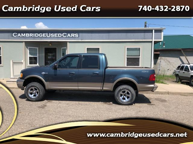 """2001 Ford F-150 4WD SuperCrew 157"""" King Ranch"""