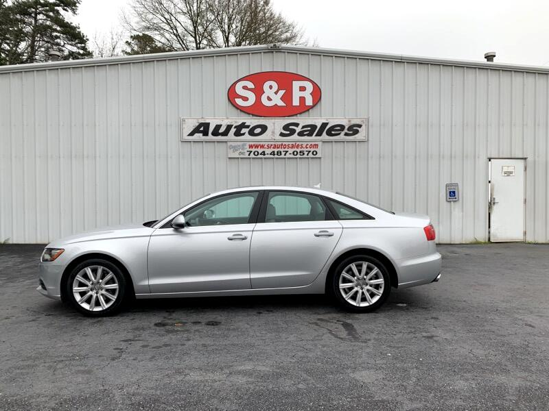 Audi A6 2.0T Premium Sedan FrontTrak Multitronic 2013