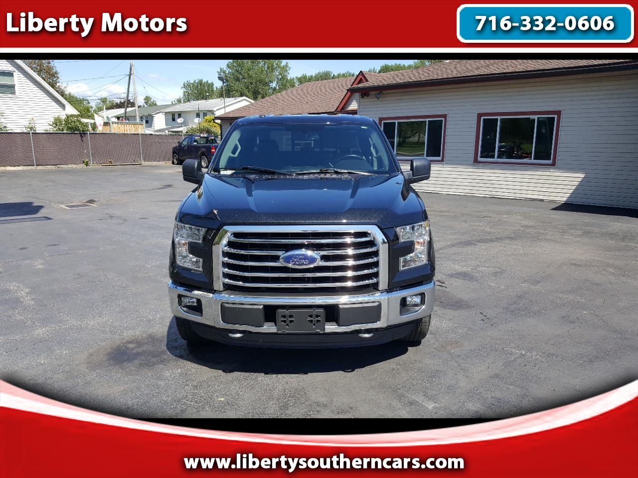 Ford F-150 XLT SuperCab 8-ft. Bed 4WD 2015