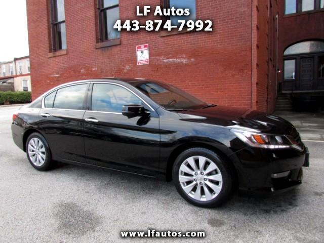 2014 Honda Accord EX-L V6 Sedan AT with Navigation