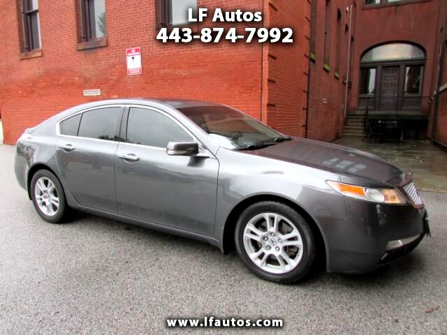 2009 Acura TL 5-Speed AT with Navigation System