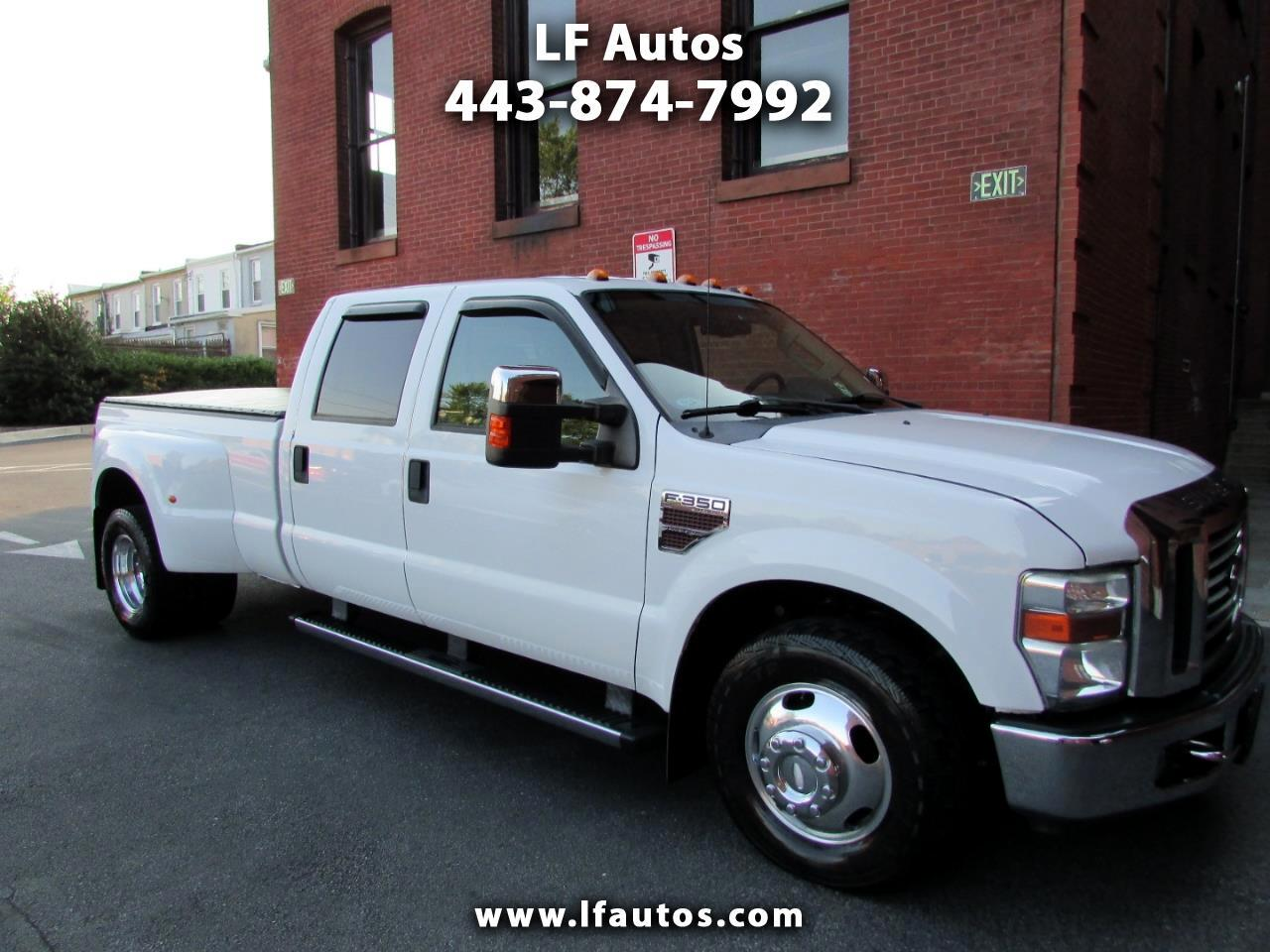 2010 Ford F-350 SD XLT Crew Cab Long Bed DRW 2WD