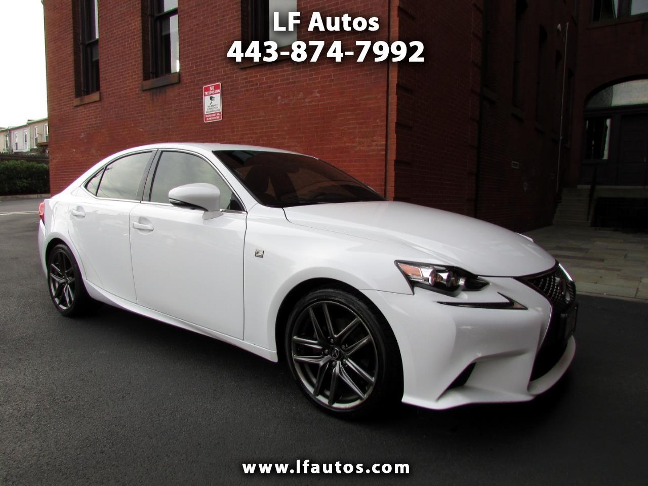 2014 Lexus IS 250 F-Sport AWD Auto