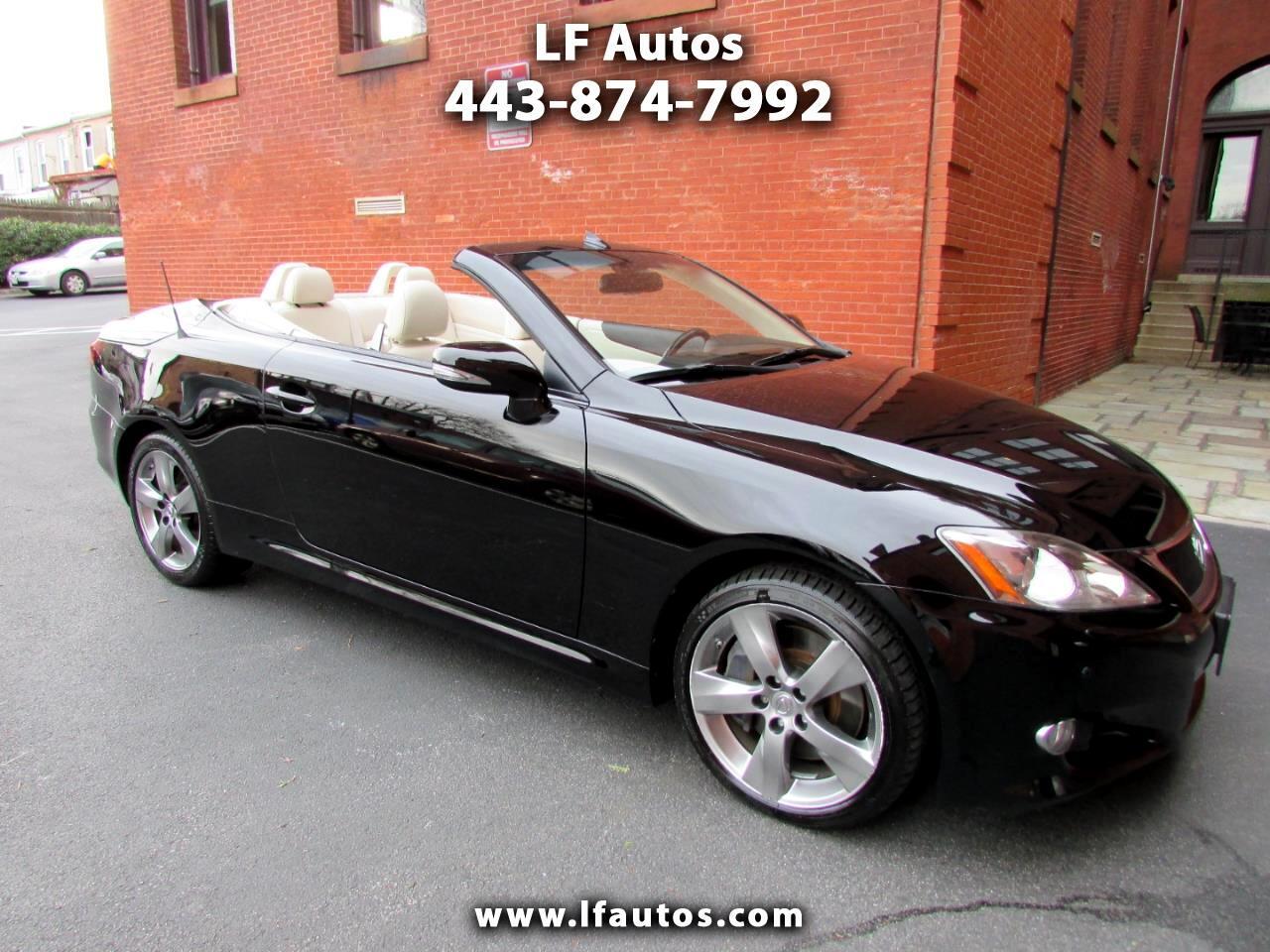 2010 Lexus IS 350C 2dr Conv