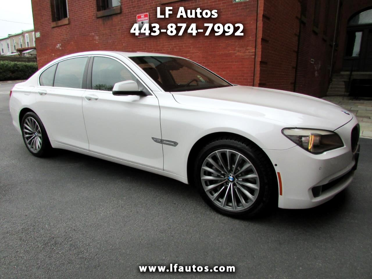 2012 BMW 7 Series 4dr Sdn 750i xDrive AWD