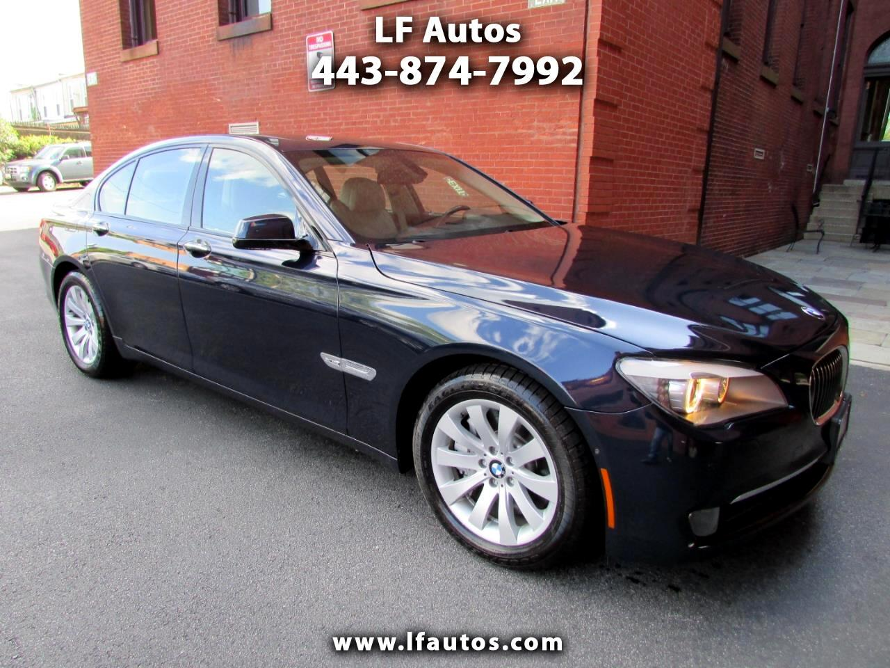2010 BMW 7 Series 4dr Sdn 750i xDrive AWD