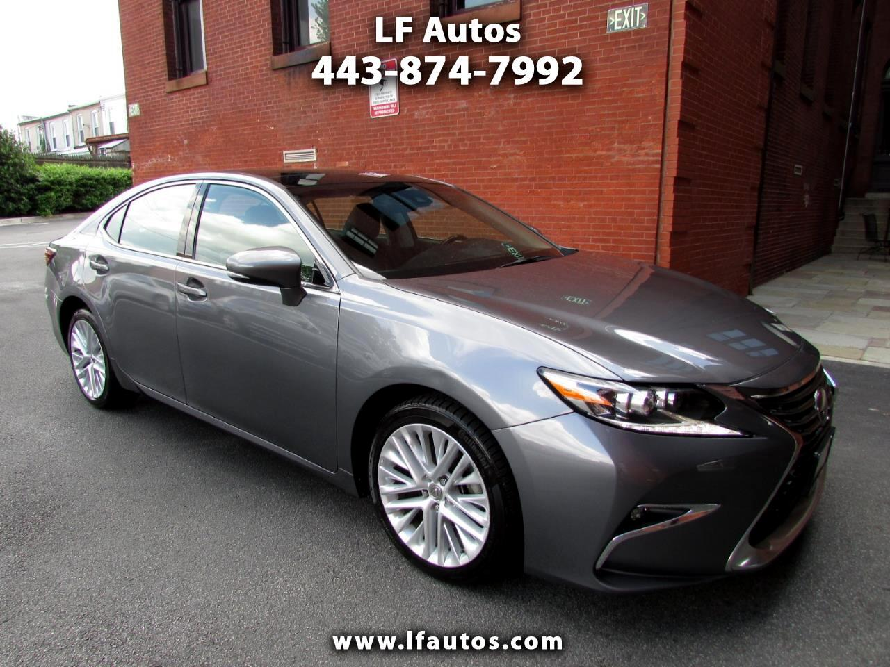 Lexus ES 350 Ultra Luxury Package 2016