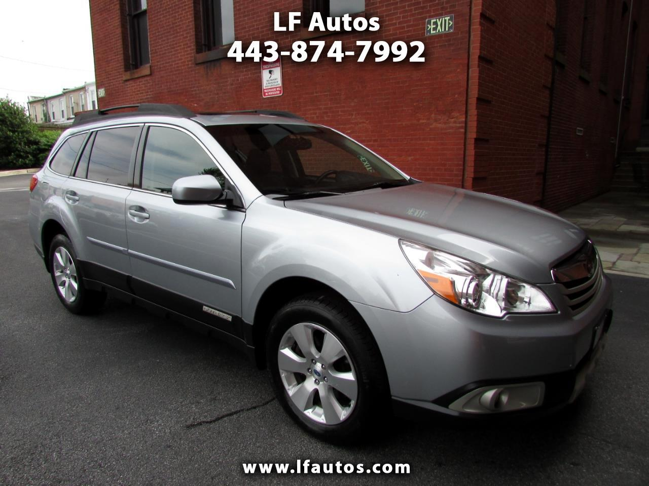 2012 Subaru Outback 4dr Wgn H6 Auto 3.6R Limited
