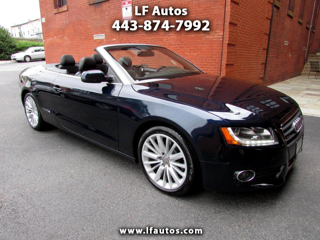 2010 Audi A5 2dr Cabriolet Auto quattro Premium Plus