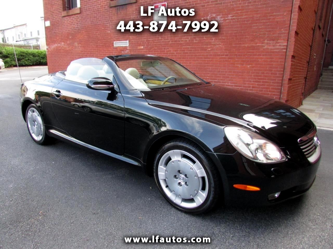 2005 Lexus SC 430 2dr Convertible