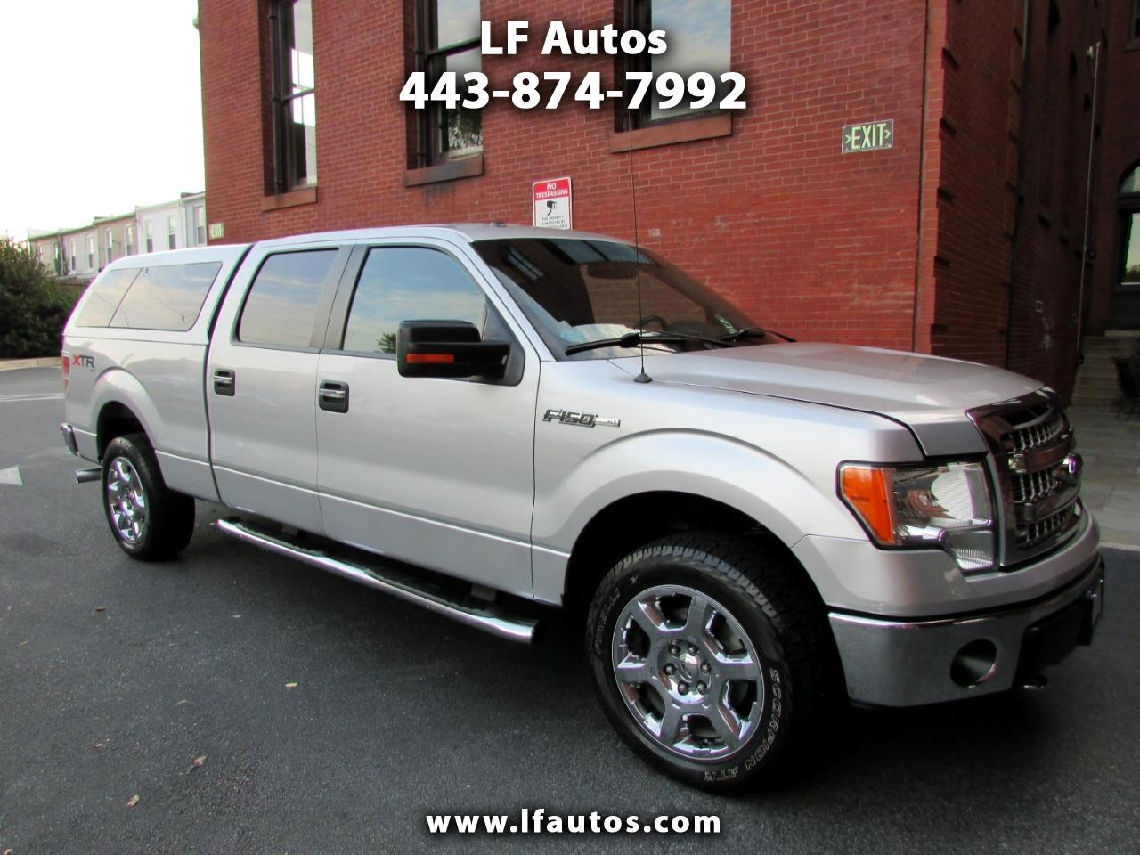 "2013 Ford F-150 4WD SuperCrew 157"" XLT"