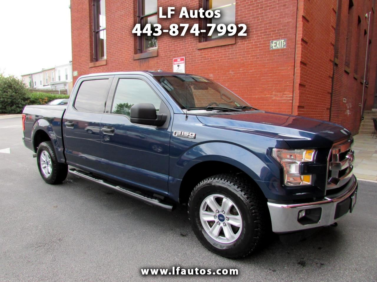 "Ford F-150 4WD SuperCrew 145"" XLT 2015"