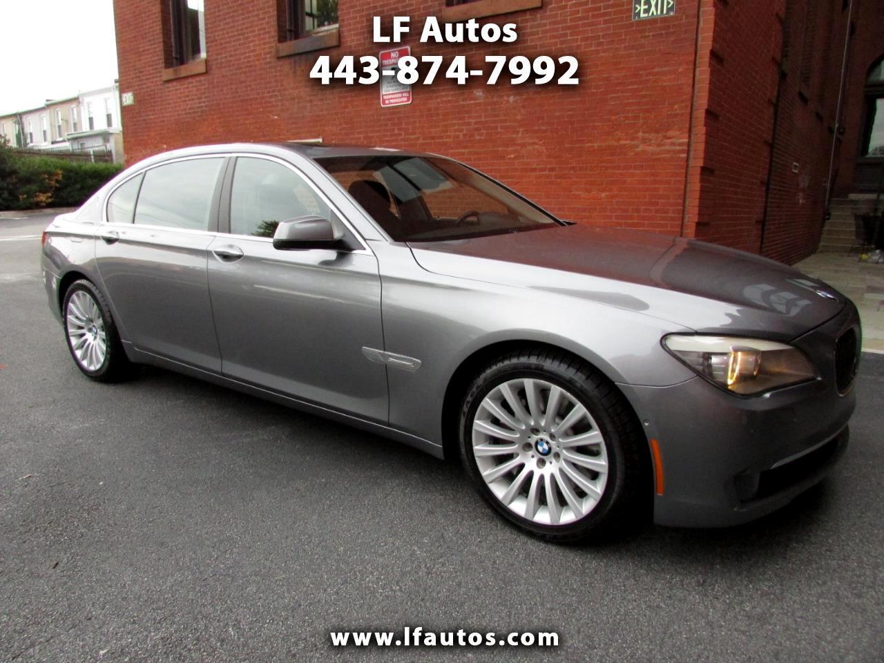 2012 BMW 7 Series 4dr Sdn 750Li RWD