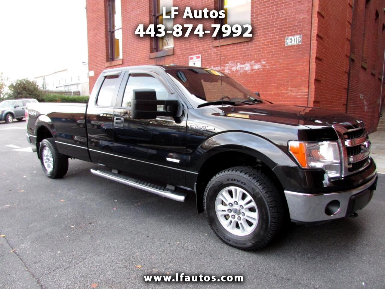 """2013 Ford F-150 4WD SuperCab 163"""" XLT w/HD Payload Pkg"""