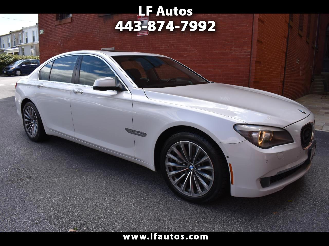 BMW 7 Series 4dr Sdn 750i xDrive AWD 2012