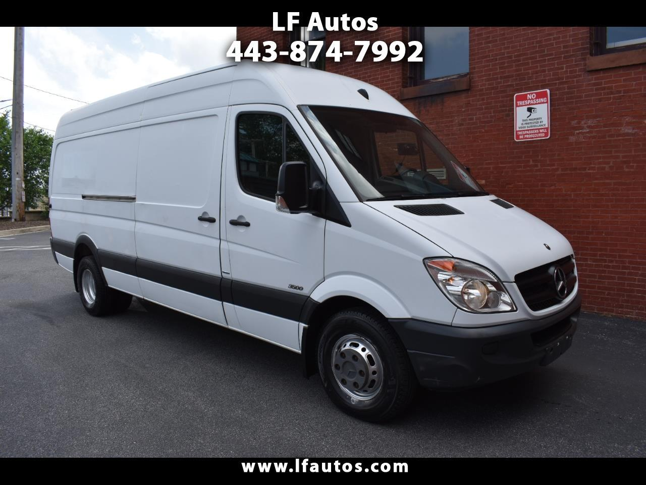 "Mercedes-Benz Sprinter Cargo Vans 3500 170"" 2012"