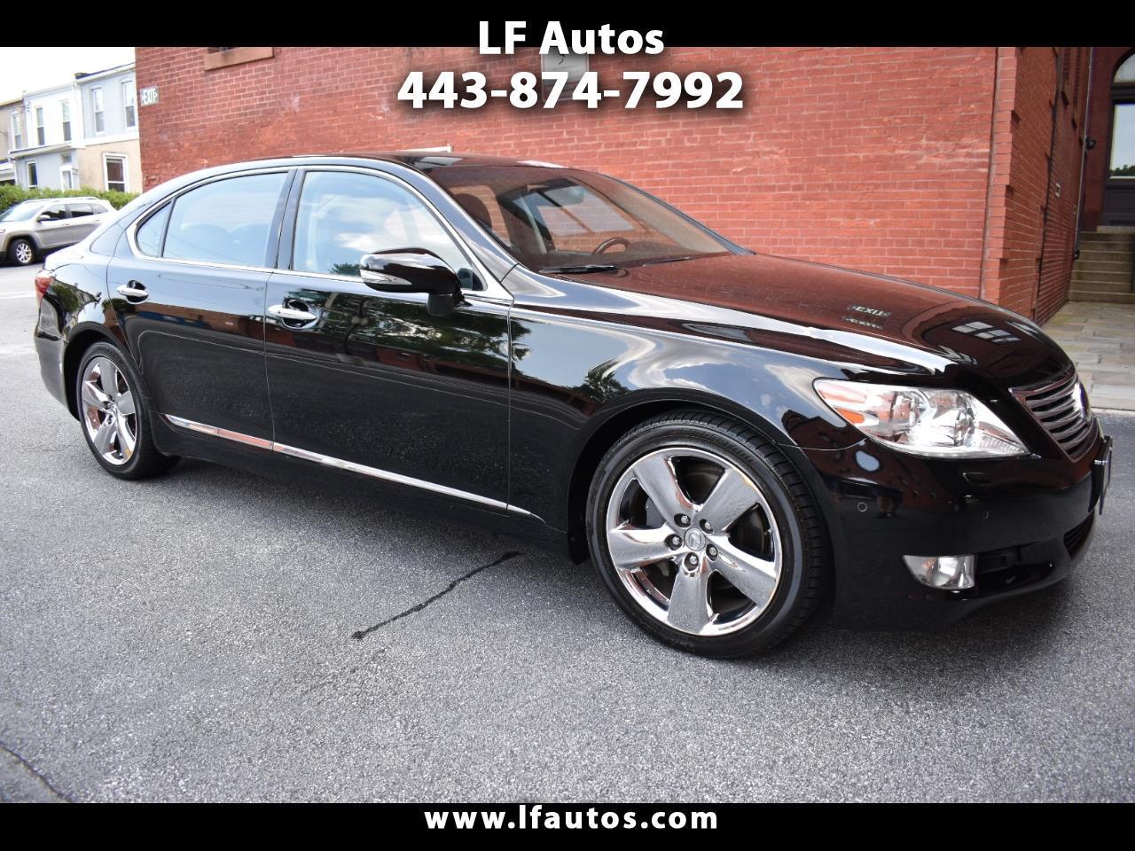 Lexus LS 460 4dr Sdn L RWD 2010