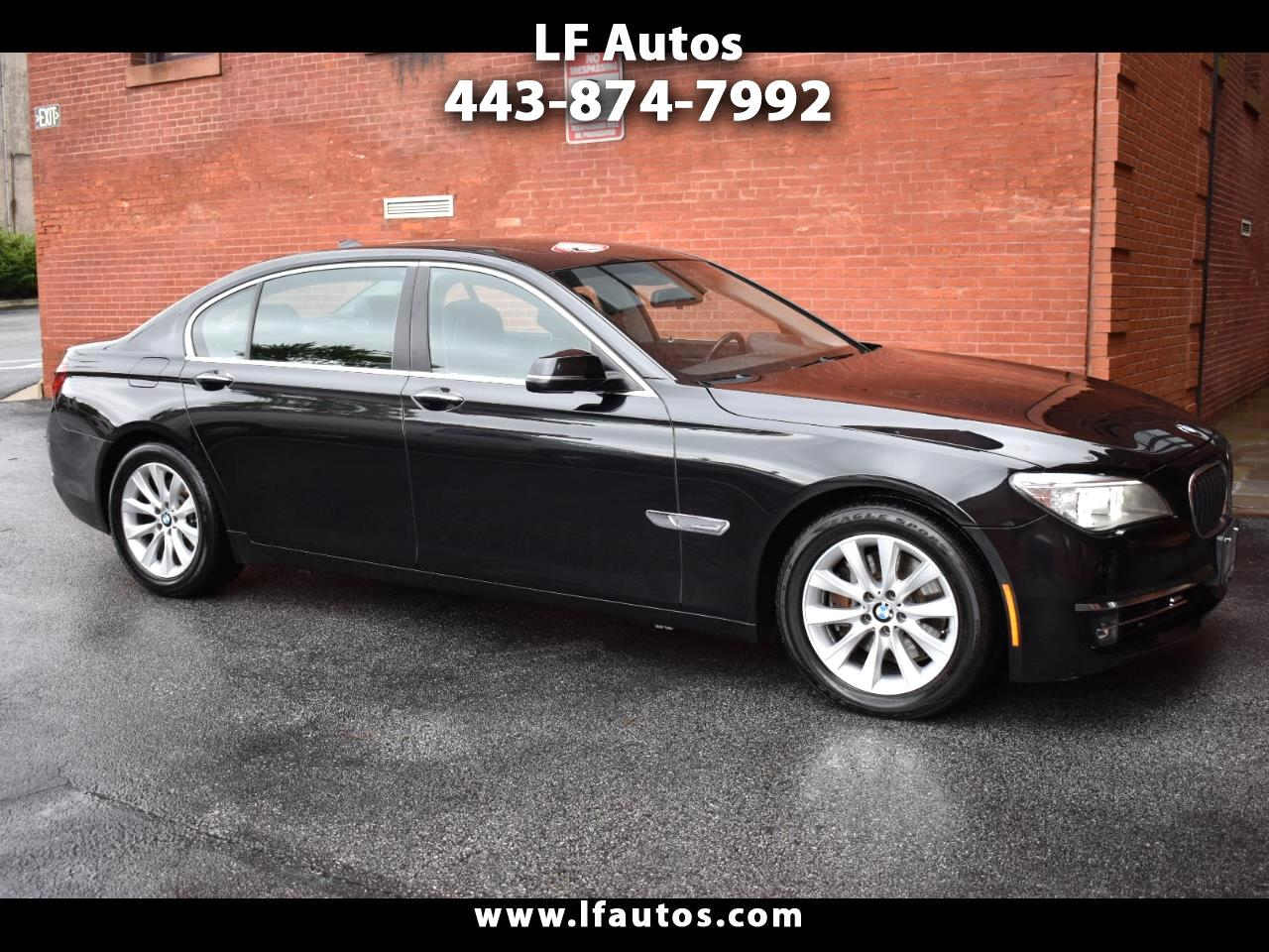 BMW 7 Series 4dr Sdn 740Li xDrive AWD 2013