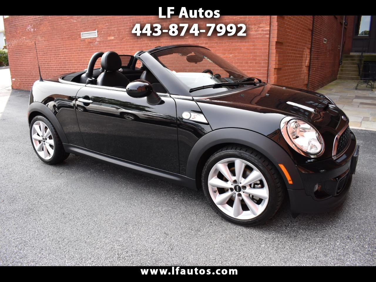 MINI Cooper Roadster 2dr S 2012