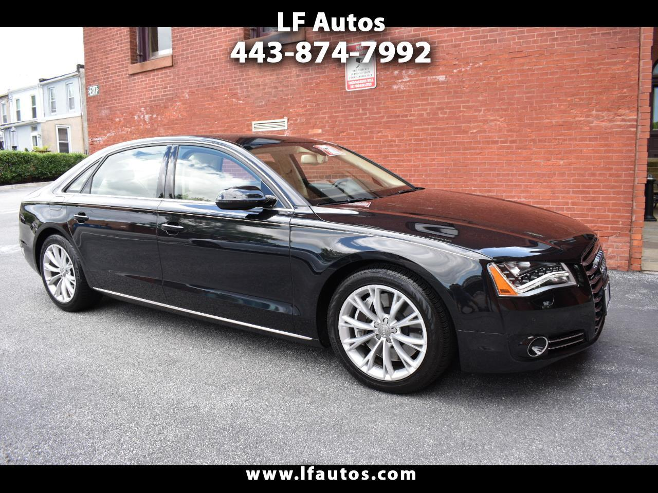 Audi A8 L 4dr Sdn 2011