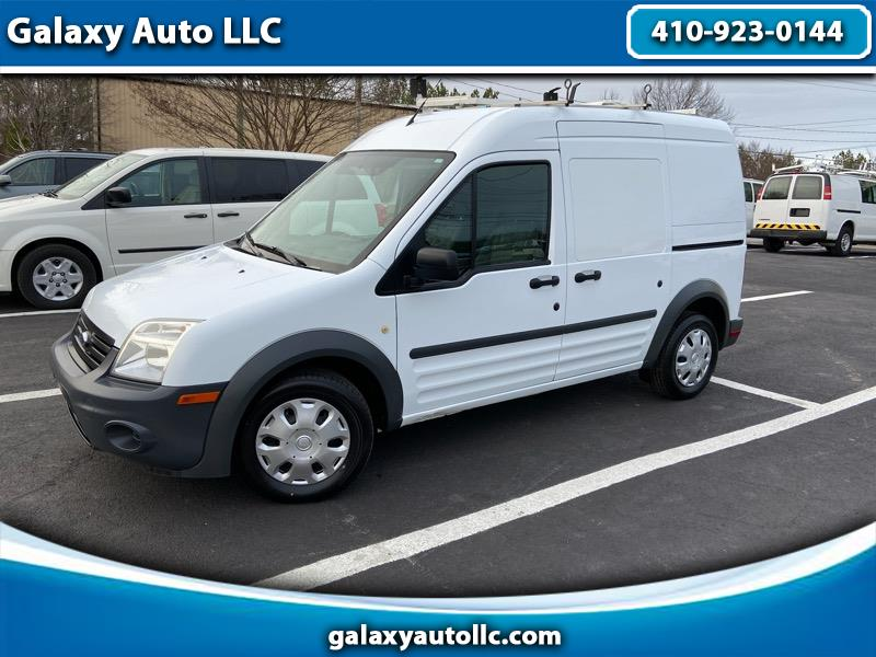 """Ford Transit Connect 114.6"""" XL w/rear door privacy glass 2013"""