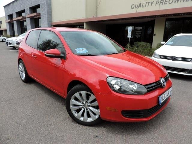 2011 Volkswagen Golf 2.5L 2-Door PZEV
