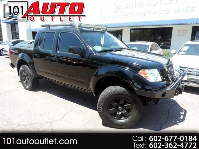 Nissan Frontier PRO-4X Crew Cab 4WD 2012